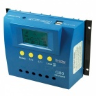 IN-COlOR 12V/24V 80A LCD Display PWM Solar Charge Controller - Blue