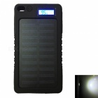 Ismartdigi LCD-8000 Waterproof Power Bank for Mobile Phone - Black