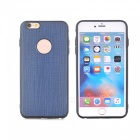 Silkwood Pattern Protective TPU Back Case for IPHONE 7 - Blue