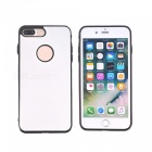 Silkwood Pattern Protective TPU Back Case for IPHONE 7 PLUS - White