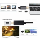 CY UC-018-BK USB 3.1 Typ C USB-C till Mini DisplayPort DP Male Cable