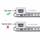 CY UC-018-BK USB 3.1 Typ C USB-C zum Mini DisplayPort DP Stecker Kabel