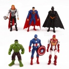 Characters Home Office Garden Cake Decoration Ornaments 6pcs