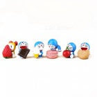 Dockor Leksaker Hem Office Garden Cake Decorations (6st)