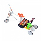 Handmade DIY Electric Bicycle Model Educational Toys (2 * AA)