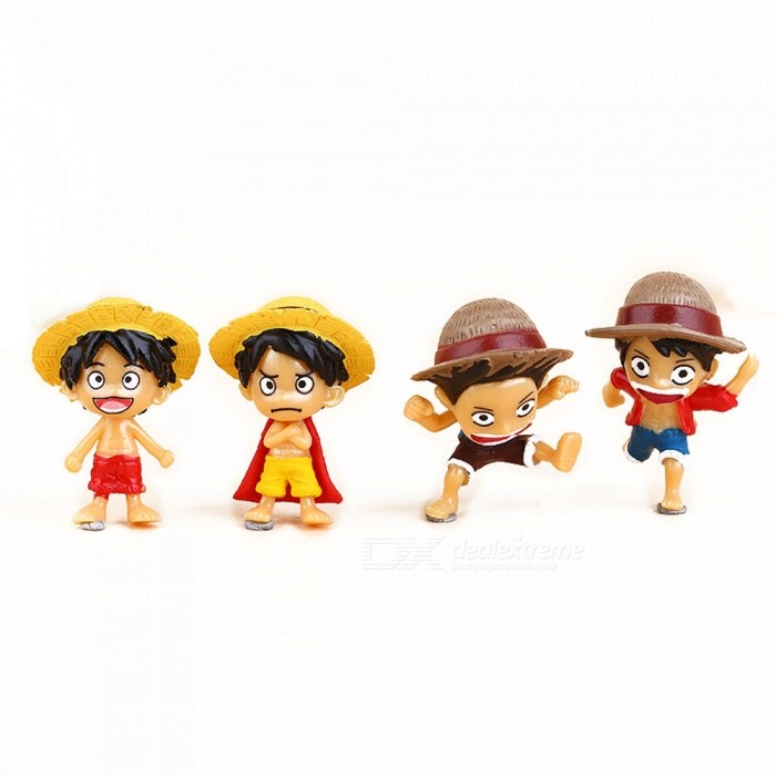 Character Micro-landscape Ornaments Garden Decoration Dolls (4pcs)