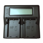 Ismartdigi EL9 Battery x2 + US Plugs LCD Dual Charger for Nikon- Black