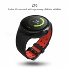 "Z10 Android GPS 1.39 ""Smart Watch avec mémoire 16GB - Rouge (version 3G)"