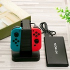 Kitbon 4-in-1 latausasema Dock for Nintendo Switch Joy-Con - Blac