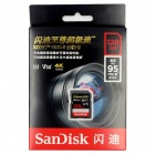 SanDisk Extreme PRO 128GB up to 95MB/s UHS-I/U3 SDXC Flash Memory Card