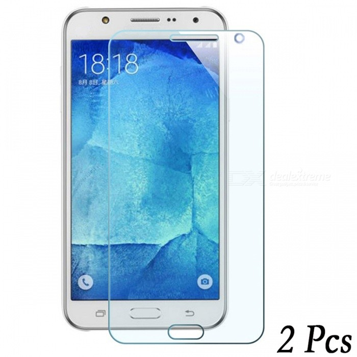 Dazzle Colour 2PCS Tempered Glass Screen Protectors for Samsung J7Screen Protectors<br>Form  ColorTransparent (J7 -2Pcs) Screen TypeGlossyModelN/AMaterialTempered glassQuantity1 DX.PCM.Model.AttributeModel.UnitCompatible ModelsSamsung Galaxy J7Features2.5D,Fingerprint-proof,Scratch-proof,Tempered glassPacking List2 x Tempered glass films2 x Wet wipes2 x Dry wipes2 x Dust stickers<br>