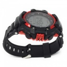 Eastor Waterproof Sport Smart Watch w / Altitude Température UV - Rouge