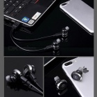 Cwxuan Wireless Bluetooth V4.2 Stereo In-Ear Headsets - Black (Pair)