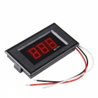 "HakkaDeal V75D DC DC0 ~ 100V 0,56"" LED Röd Display Digital Voltmeter"