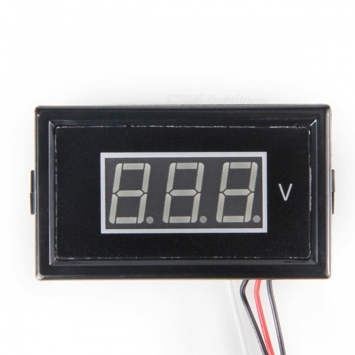 "HakkaDeal V85D DC 0 ~ 100V 0.56"" LED Verde Display Digital Voltímetro"