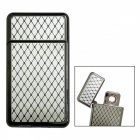 Dayspirit Specular Net Pattern USB Rechargeable Lighter - Silver