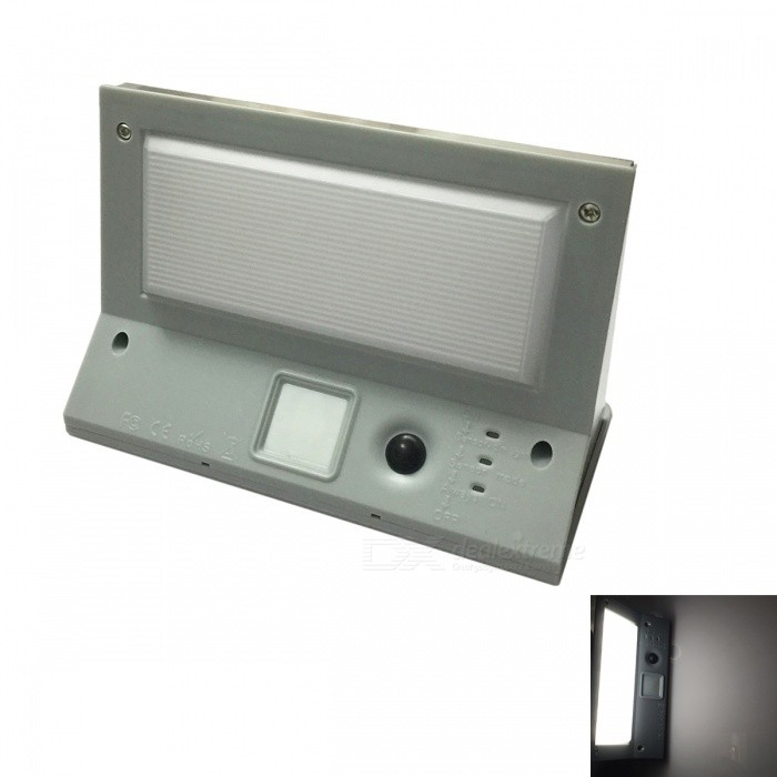 Ismartdigi 0.2W 21LED lámpara de pared para lámparas solares de pared - Gris