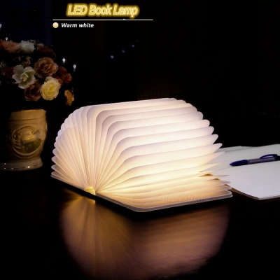 Warm White LED Foldable USB LED Booklight Book Lamp Nightlight