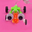 Handgjord DIY Creeping Gecko Technology Modell Educational Toy (2 x AA)