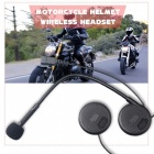 Bluetooth V4.0 Motorradhelm Wireless Headset - Schwarz