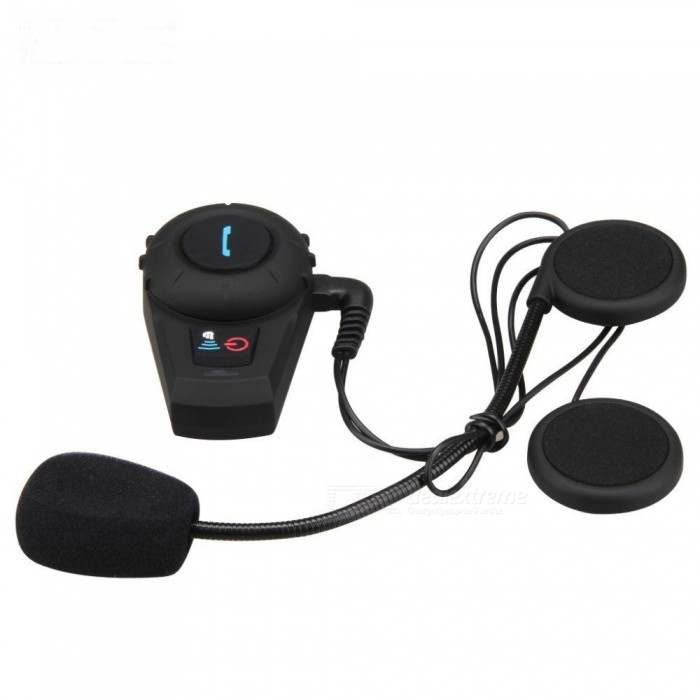 500m Motorcycle Helmet Bluetooth Headset Wireless Intercoms (2 PCS)