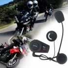 500m motocyklová helma Bluetooth interphone (US zástrčky / 1 PC)