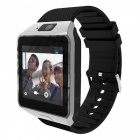 Wi-Fi 3G Bluetooth Smart Watch mit Kamera, Wetter Broadcast - Silber