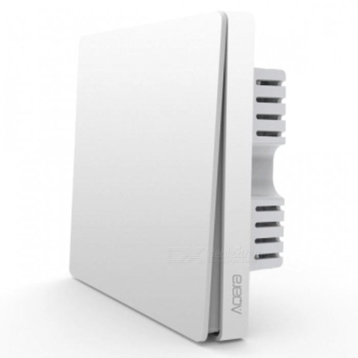 Xiaomi ZigBee Version Single-Key Aqara Wall Switch - WhiteHome Smart Devices<br>Form  ColorAqara Wall Switch (1-Key)Quantity1 DX.PCM.Model.AttributeModel.UnitMaterialABSRate Voltage220~50hzPower AdapterWithout Power AdapterPacking List1 x Xiaomi Aqara wall switch<br>