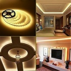 KWB IP65 Waterproof  5050 300-LED Warm White LED Light Strip Kit (5m)