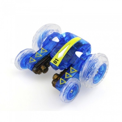 HAPPYCOW xn 777-610 4-Channel 2.4Ghz Micro RC Stunt Car - Blue