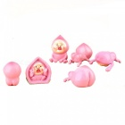 Cute Different Shapes Dolls for Hand Garden Cake Decoration (6pcs)