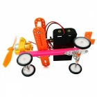 Handmade DIY Electric Taxiing Aircraft Educational Toys (2 x AA)