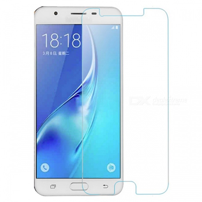 Dazzle Colour Tempered Glass Screen Protector for Samsung J7 Prime