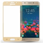 Dazzle Colour Full Tempered Glass Screen Protector for Samsung J5Prime