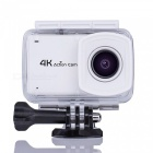 4K Wi-Fi  2.45 Inches Touchable Screen Sports Camera 16MP - White
