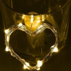 2m 20-LED Warm White Fairy String Bottle Cork Light w/ Button Battery