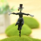 Hand Made DIY Haar Mobile Castle Scarecrow Potted Horticulture Doll