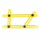 Kitbon Mechanism Multi-Angle Four-Sided Measuring Ruler for DIY