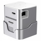 ORIMAG P6 Portable Mini DLP LED HD Wi-Fi Projector - Silver (EU Plug)