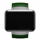 DOMINO DM98 Android 3G Smart Watch Phone with 900mAh Battery - Green