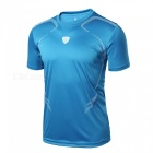Casual Polyester Tees Short Jersey, Slim Fit for Outdoor Football Soccer Hiking Camping in Summer