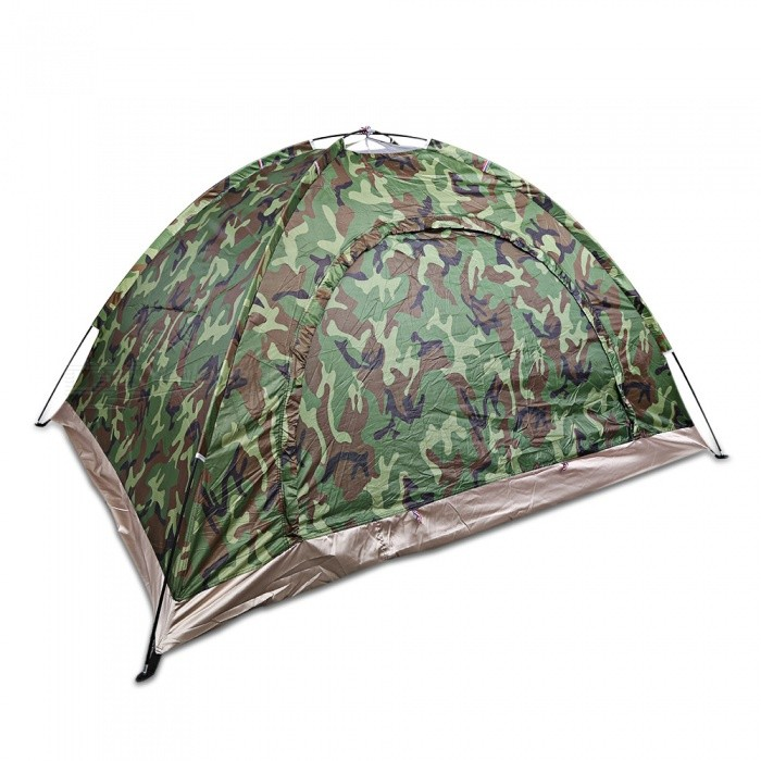 CTSmart 2-Person Recreation Outdoor Camping Tent - ACU Camouflage