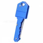 Portable Mini Pocket Key Style Folding Knife - Blue
