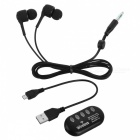 Cwxuan Wireless Bluetooth V4.2 Stereo In-Ear Sport Kopfhörer - Schwarz