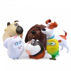 DIY The Secret Life of Pets Gardening Landscape Ornament Dolls (6PCS)