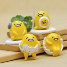 Hand-made DIY Gudetama Cartoon Potted Gardening Landscape Dolls (4PCS)
