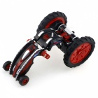 777-607 4-Channel 2.4Ghz Micro RC Stunt Car - Black