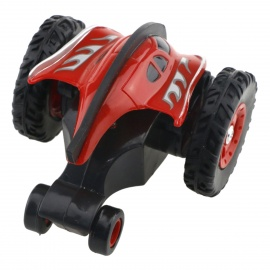 777-611 4-Channel 2.4GHz Micro RC Stunt Car - Red
