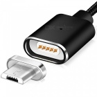 Cwxuan Micro USB Detachable Magnetic Charging Data Cable - Black (1m)