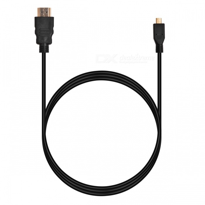 BSTUO Micro HDMI to HDMI Cable - Black (1.5m)
